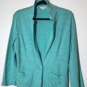 Caslon Medium 1 Button Jacket Blue Nordstrom